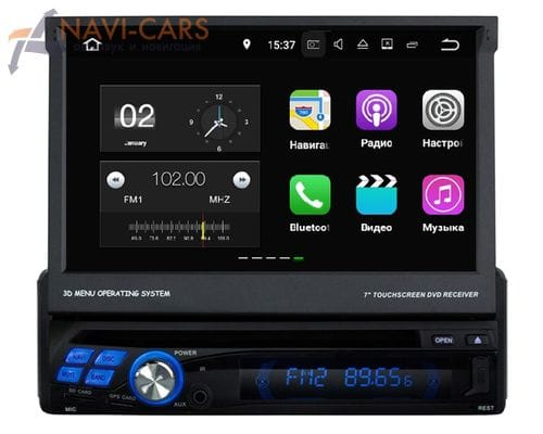 Магнитола 1 din Android 7 FarCar s130+ (W810)