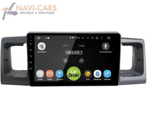 Штатная магнитола BYD F3 Android 6 (Roximo CarDroid RD-1101F)