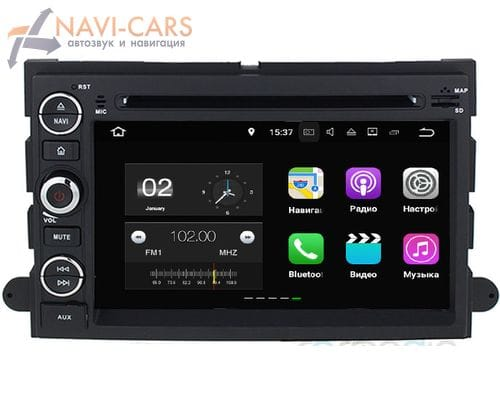 CarMedia KD-7014-P3-7 Ford Explorer. Expedition, Mustang, Edge, F-150 Android 7.1