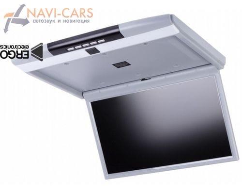 Потолочный монитор 15.6 дюйма серый (ERGO ER156FH)