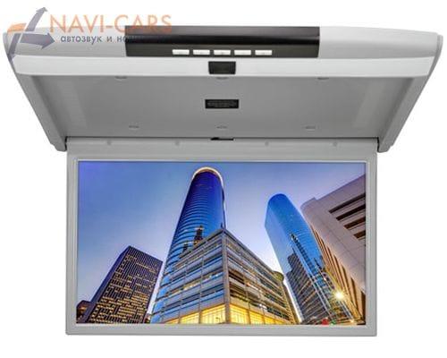 Потолочный монитор 15.6 дюймов серый (FarCar Z003)
