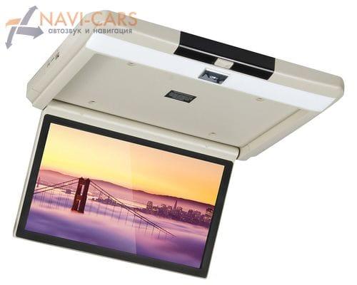 Потолочный монитор 13.3 дюйма бежевый (FarCar Z004)