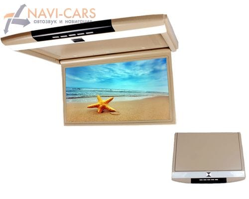 Потолочный монитор 17.3 дюймов бежевый (FarCar Z002)