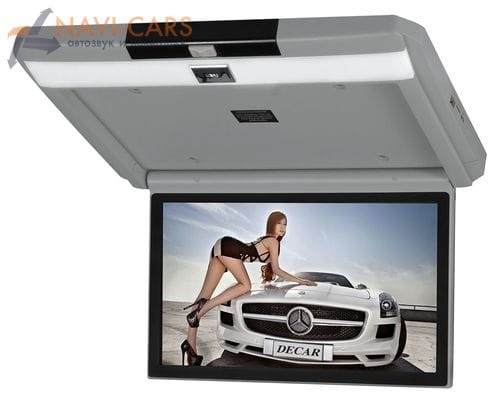 Потолочный монитор 13.3 дюйма серый (FarCar Z004)