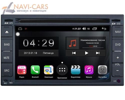 2 DIN универсальная магнитола FarCar Winca S300-SIM 4G на Android 9.1 (RG001) DSP