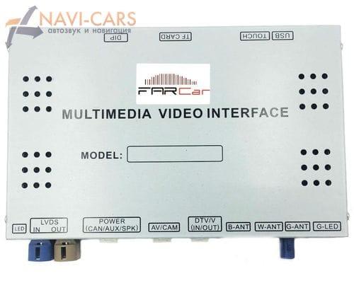 Мультимедийный навигационный блок FarCar FC-FD-1 для Ford с системой SINC3