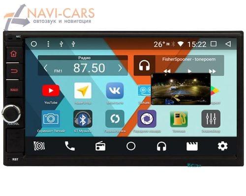 Parafar 4G/LTE для Nissan Juke, Qashqai, X-Trail, Patrol, Micra, Note с DSP процеccором на Android 7.1.2 (PF001DSP)