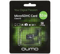 QUMO MicroSDHC 32GB Class 10