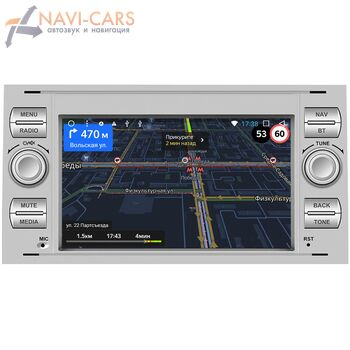 Штатная магнитола Ford Focus, C-Max, S-Max, Fiesta, Fusion, Mondeo, Transit, Kuga OEM RS140s на Android 9