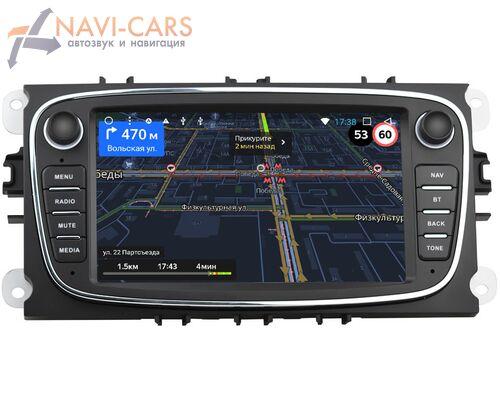 Ford C-MAX I 2007-2010 OEM RS003B на Android 8.1 (черная)