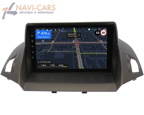 Ford Kuga II 2013-2017 LeTrun 3151-9028 на Android 9 (4G DSP 2/32 IPS)