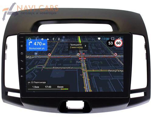 Hyundai Elantra IV (HD) 2006-2011 (темно-серая) LeTrun 3151-9077 Android 9 (4G DSP 2/32 IPS)