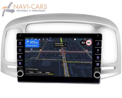 Hyundai Accent III, Verna II 2005-2010 OEM BGT9-069 2/32 на Android 8.1.1
