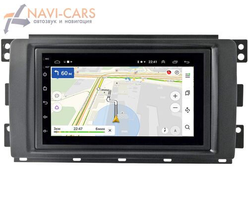 Smart Forfour 2004-2006, Fortwo II 2007-2011 OEM 2/16 на Android 9 (GT7-RP-11-260-198)