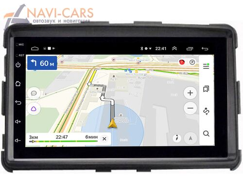 SsangYong Rexton III 2012-2018 OEM 2/16 на Android 8.1 (GT7-RP-SYRXB-172)
