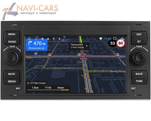 Ford Focus, C-Max, S-Max, Fiesta, Fusion, Mondeo, Transit, Kuga OEM RS140b на Android 9