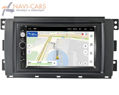 Smart Forfour 2004-2006, Fortwo II 2007-2011 OEM на Android 9.1 (RS809-RP-11-260-198)