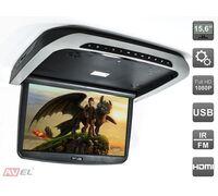 "AVIS AVS1515MPP (серый) 15,6"" со встроенным Full HD медиаплеером"