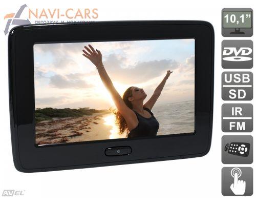 AVIS AVS1015T Навесной монитор с сенсорным экраном и DVD