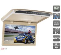 "AVIS AVS1507MPP (бежевый) 15,6"" со встроенным Full HD медиаплеером"