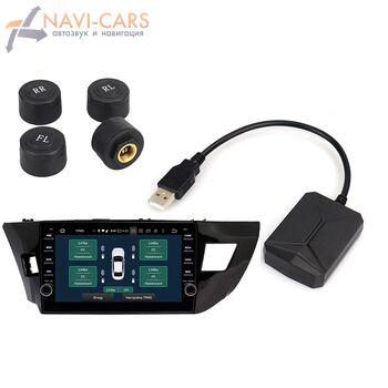 Датчики давления в шинах (внешние) USB TW602 для магнитолы на Android