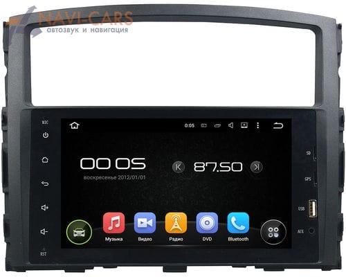 CarMedia KD-8238-P5 Mitsubishi Pajero IV 2006-2019 Android 9.0