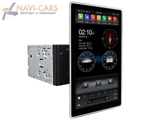 2 DIN CarMedia KD-12501-4G Android 9.0