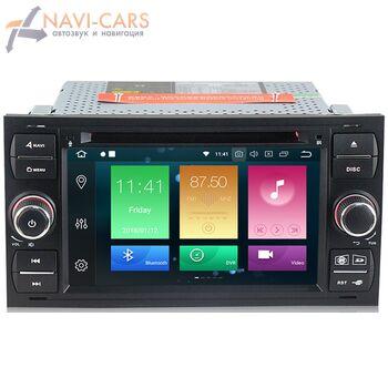 Штатная магнитола CarMedia MKD-F745B-P5 Ford Focus, Mondeo, S-Max, Galaxy, C-Max 2005-2015 Android 9.0