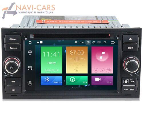 CarMedia MKD-F745B-P30-8 Ford Focus, C-Max, S-Max, Fiesta, Fusion, Mondeo, Transit, Kuga (черная) на Android 9.0