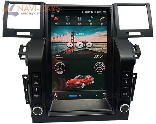 CarMedia NH-1002 для Land Rover Range Rover Sport 2005-2009 Tesla Style (стиль тесла) на Android 8.1