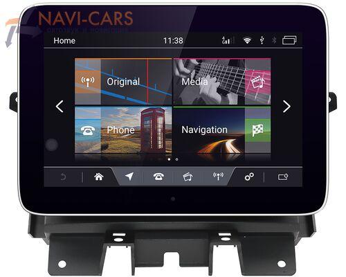 CarMedia NH-1003 для Land Rover Discovery IV 2013-2016 Tesla Style (стиль тесла) на Android 8.1