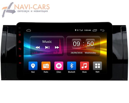 BMW 7 (E38), 5 (E39), M5 (E39), X5 (E53) CarMedia OL-8957-P30 на Android 9.0