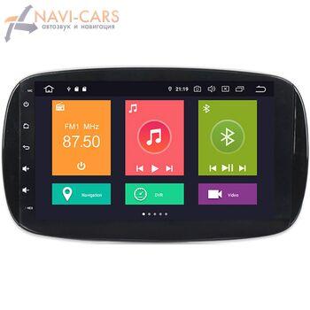 Штатная магнитола CarMedia XN-M902-P30 Smart Fortwo III, Forfour II 2014-2021 на Android 10.0