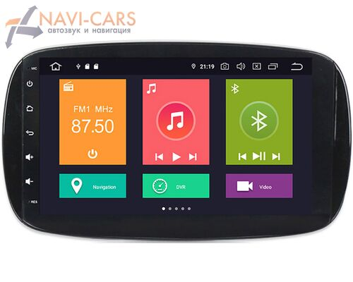 CarMedia XN-M902-P30 Smart Fortwo III, Forfour II 2014-2021 на Android 10.0