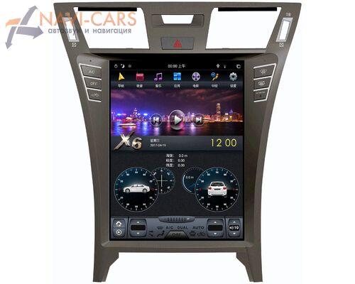 CarMedia ZF-1303L-DSP для Lexus LS 460 IV 2006-2012 Tesla Style на Android 9.0