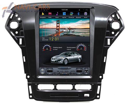 CarMedia ZF-1052-32-DSP для Ford Mondeo IV 2007-2015 Tesla Style (стиль тесла) на Android 9.0