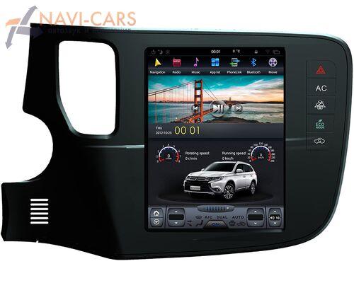 CarMedia ZF-1109 для Mitsubishi Outlander III 2012-2019 Tesla Style на Android 7.1