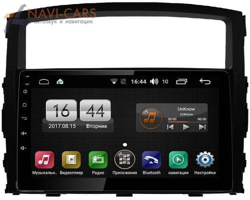 FarCar s195 для Mitsubishi Pajero IV 2006-2019 на Android 8.1 (LX1009R) DSP IPS