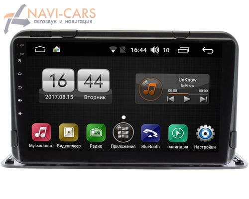 2 DIN 9 дюймов FarCar LX9191-R на Android 9.1 (Winca S195 DSP IPS) для установки на торпедо