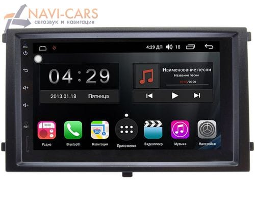 SsangYong Rexton II 2007-2012 FarCar S400 4G-SIM TG829-RP-SYRX-171 на Android 10 (DSP / 8 ядер / 3Gb / 32Gb) (173х98)