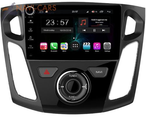 FarCar Winca S400-SIM 4G для Ford Focus III 2011-2018 на Android 10 (H150/501RB) DSP 4/64
