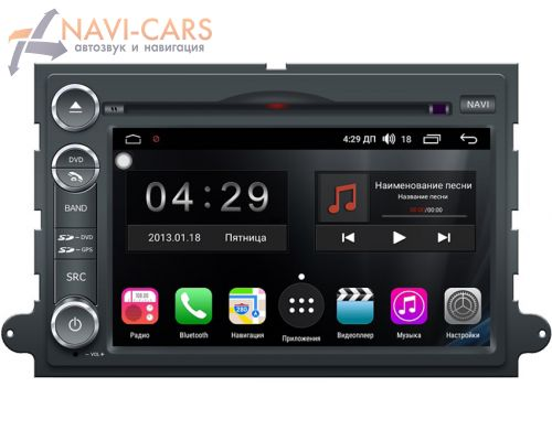 FarCar Winca S300-SIM 4G для Ford Explorer IV, Expedition III, Five Hundred, Mustang V, Edge I, F-150 XII на Android 9.1 (RG148) DSP