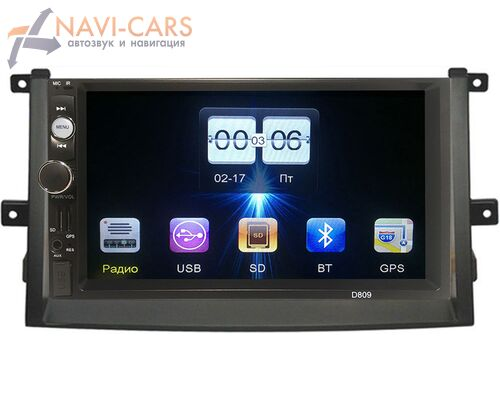 Hyundai Grandeur IV 2005-2011 FarCar (D809-1-RP-11-263-281) без Navi