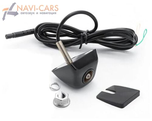 Универсальная камера заднего вида на болте AHD 1080p, 170 градусов, с отключаемой разметкой (ночная съемка)