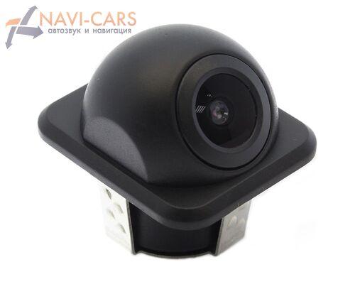 Универсальная камера переднего (заднего) вида врезная водонепроницаемая с включаемой разметкой (20мм)