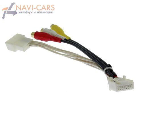 Кабель аудио/видео входа AVC38 для автомобилей Toyota 2011+, Lexus 2012+ (16 pin)