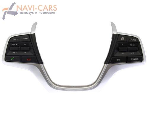 Штатные кнопки на руль для Hyundai Solaris II 2017+