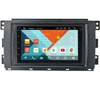 Smart Forfour 2004-2006, Fortwo II 2007-2011 Wide Media MT7001PK-2/16-RP-11-260-198 на Android 9.1 (DSP 3G-SIM)