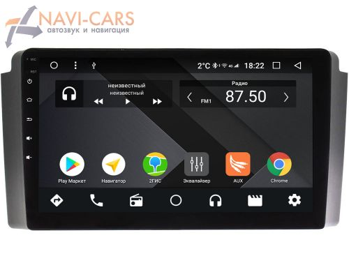 SsangYong Rexton 2001-2007 OEM PX9-SY020N-4/32 на Android 10 (PX6, IPS, 4/32GB)