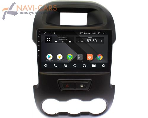Ford Ranger III 2012-2015 OEM PX9165-4/32 на Android 10 (PX6, IPS, 4/32GB)